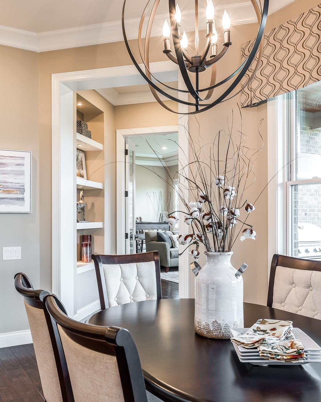 Luxury Home Staging | Elegant Breakfast Table
